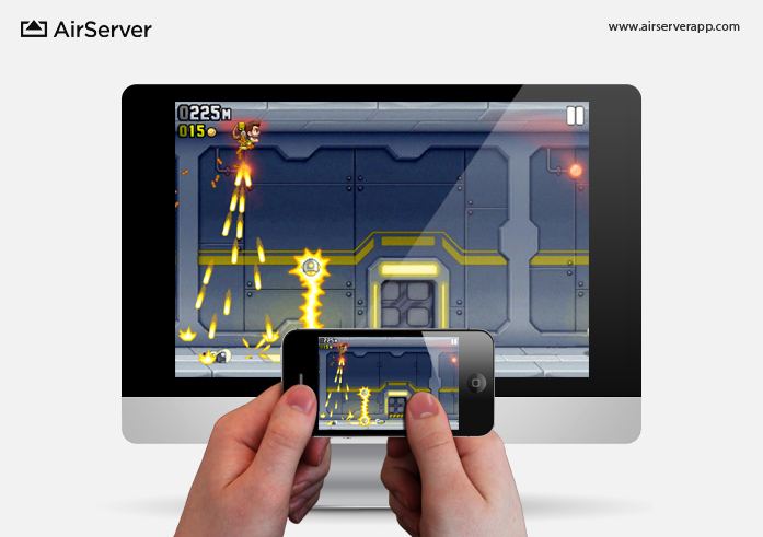 AirServer: Jetpack on Mac via iPhone
